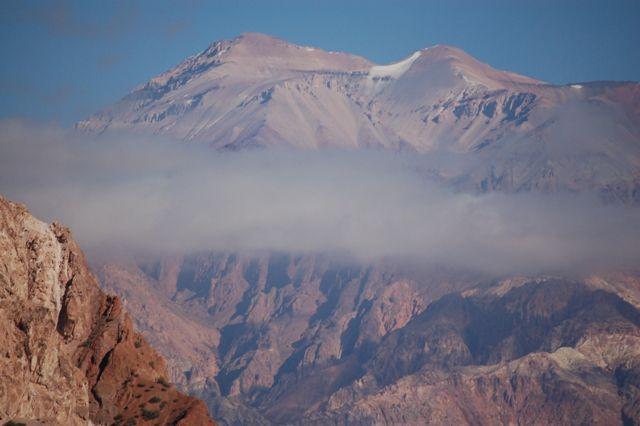 Zdj�cia: Andy-Granica Argentyna-Chile, Droga przez Andy z Mendozy do Vina del Mar, Przejazd przez Andy, CHILE