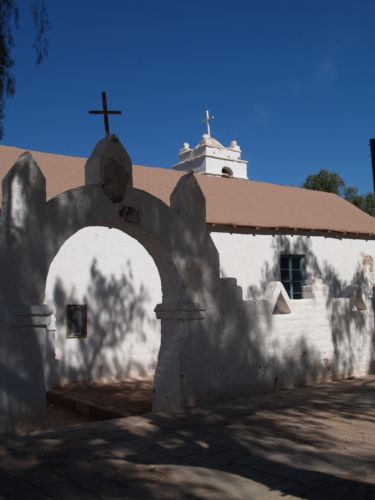 Zdjęcia: San Pedro de Atacama , Kościół św Piotra , CHILE