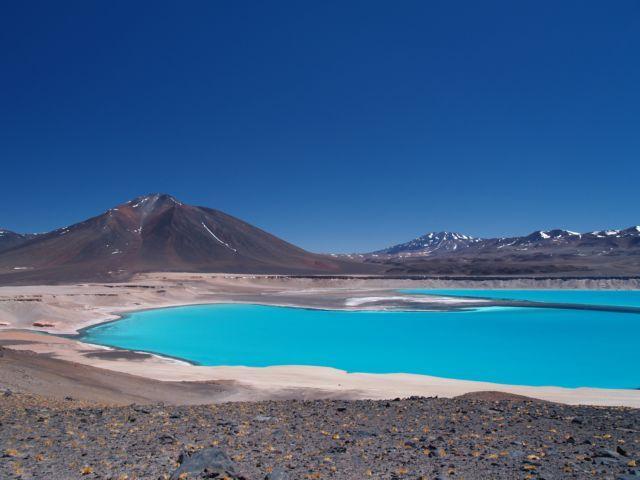 Zdjęcia: Pustynia Atacama, droga pod Ojos del Salado, Laguna Verde, CHILE