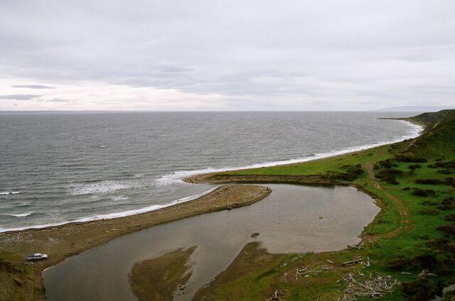Zdjęcia: nad Rio Condor, Tierra del Fuego, Czekając na odpływ, CHILE