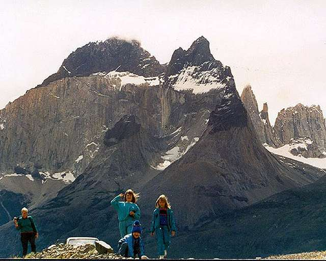 Zdjęcia: droga do lag. Amarga, Masyw Paine, Patagonia, przyjazd w gory, CHILE
