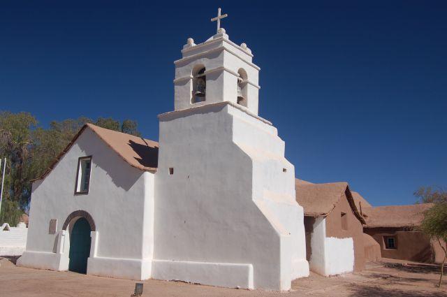 Zdjęcia: San Pedro de Atacama, Kościółek , CHILE