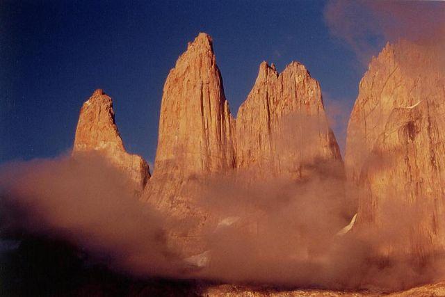 Zdjęcia: torres del paine, wschod na wieze Paine, CHILE