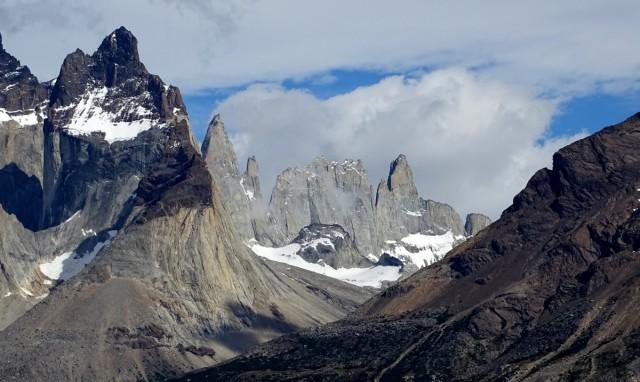 Zdjęcia: Park Narodowy Torres del Paine, Patagonia- region Magallanes, Od drugiej strony, CHILE