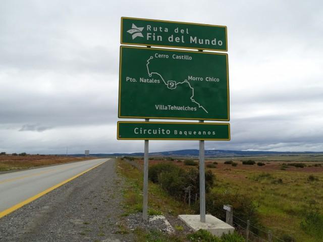 Zdjęcia: w drodze z Punta Arenas do Puerto Natales, Patagonia, Droga Końca Świata, CHILE