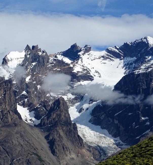 Zdjęcia: PN Torres del Paine-Glacier del Francés, Patagonia- region Magallanes, Lodowiec Francuza, CHILE