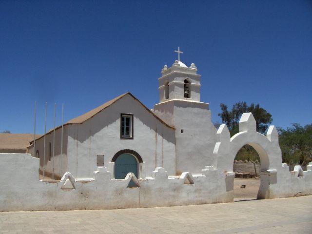 Zdjęcia: San Pedro de Atacama, Kościółek, CHILE