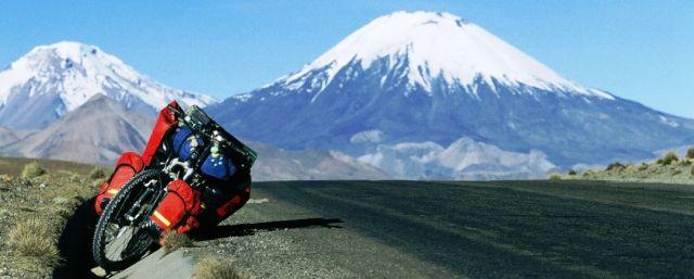 Zdjęcia: Wulkan Parinacota, W drodze 2, CHILE