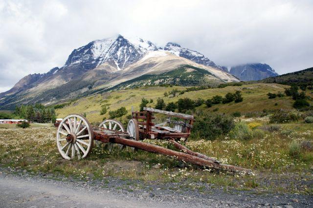 Zdjęcia: Park Narodowy Torres del Paine, Magallanes, Tylko koni brak:), CHILE