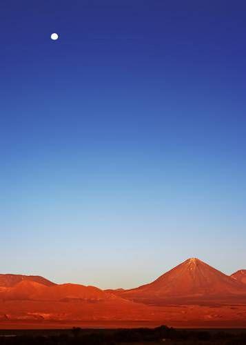 Zdjęcia: Salar Atacama, O Zachodzie Slonca, CHILE