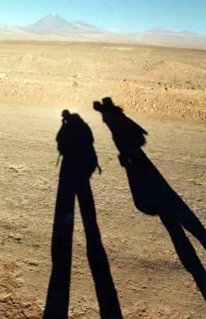 Zdjęcia: Atacama, północne Chile, We dwoje na pustyni..., CHILE