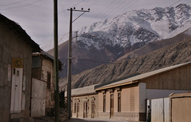 Zdjęcia: Pisco Elqui, ulice Pisco Elqui, CHILE