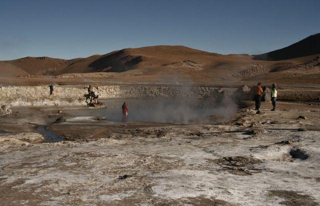 Zdjęcia: El Tatio Geysers, gorace zrodla , CHILE