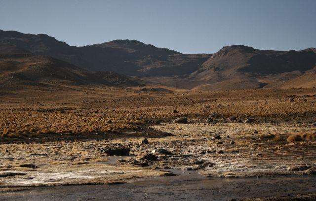 Zdjęcia: El Tatio Geysers, krajobraz, CHILE