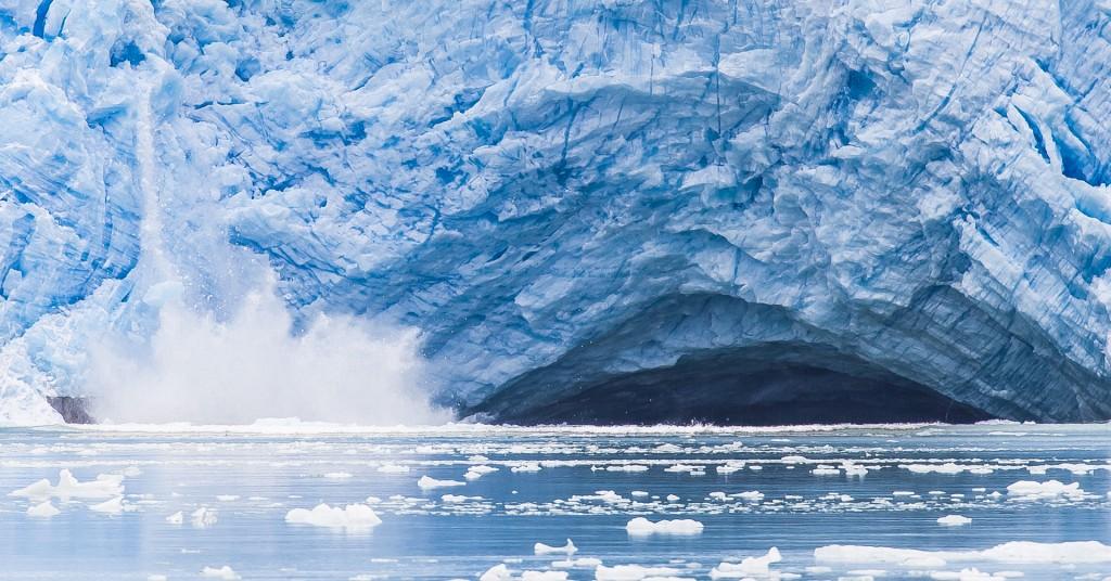 Zdjęcia: Cieśnina Magellana, Punta Arenas, Lodowiec się kruszy, CHILE