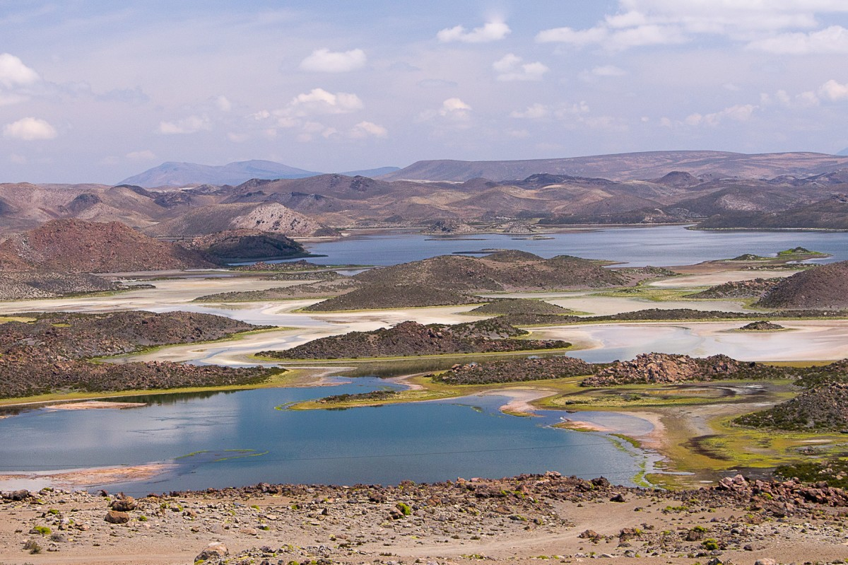Zdjęcia: NP Lauca, Arica i Parinacota, Laguna Cotacotani, CHILE