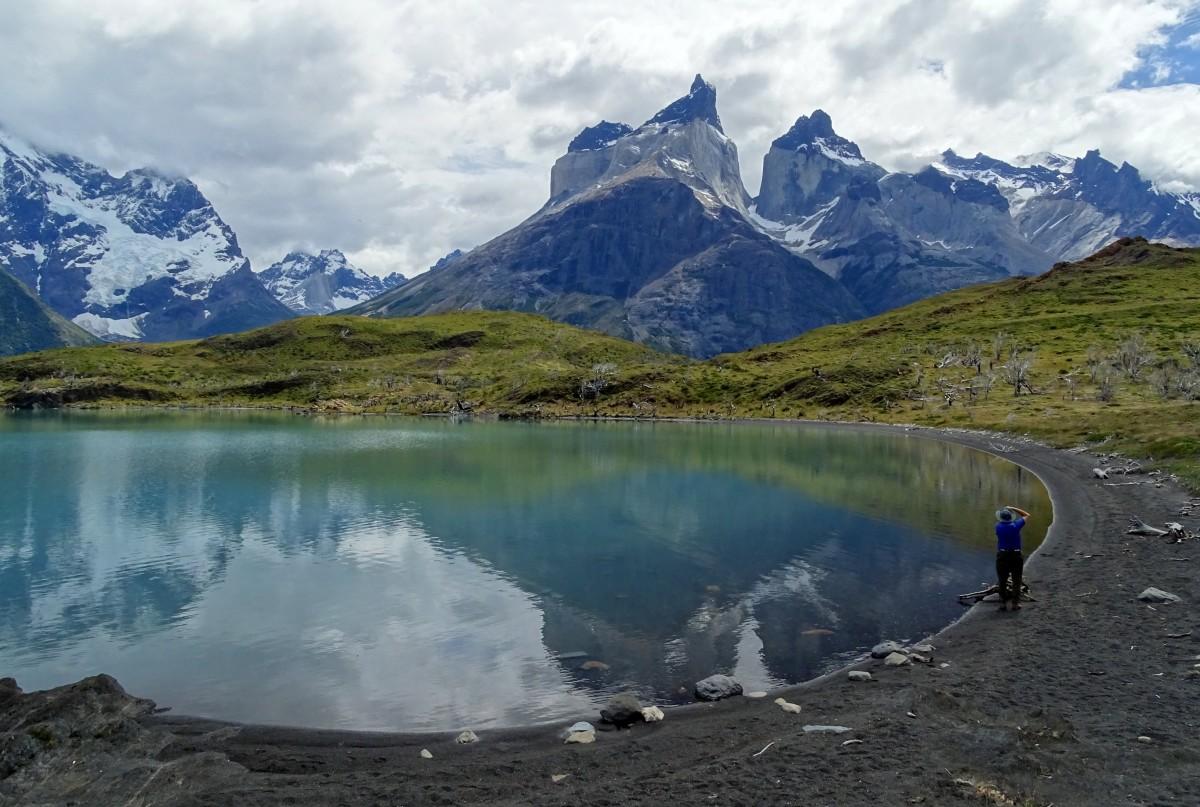 Zdjęcia: PNTorres del Paine-Cuernos del Paine, Patagonia- region Magallanes, A pogoda zmienia się co chwilę, CHILE