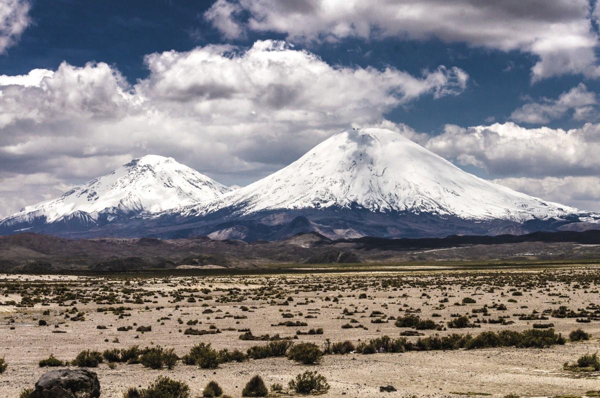 Zdjęcia: Lauca NP, Arica i Parinacota, Parinacota i Pomerade, CHILE