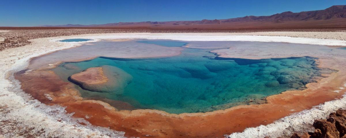 Zdjęcia: Laguna Baltinache, Salar de Atacama, Laguna Baltinache, CHILE