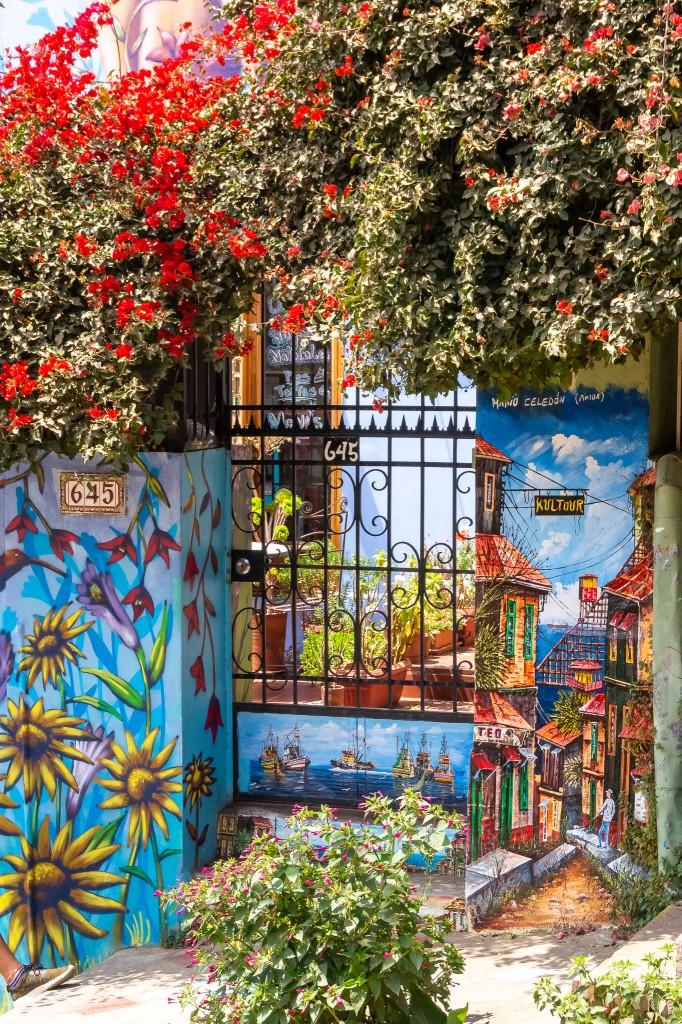 Zdjęcia: Valparaiso, Valparaiso, Taka tam furtka, CHILE