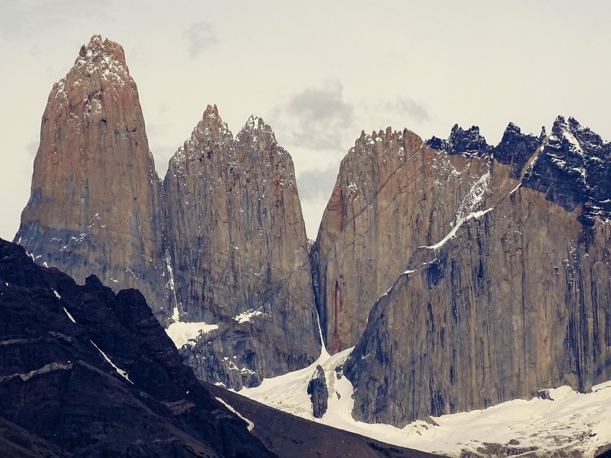 Zdjęcia: Park Narodowy Torres del Paine, Patagonia, Wieże, CHILE