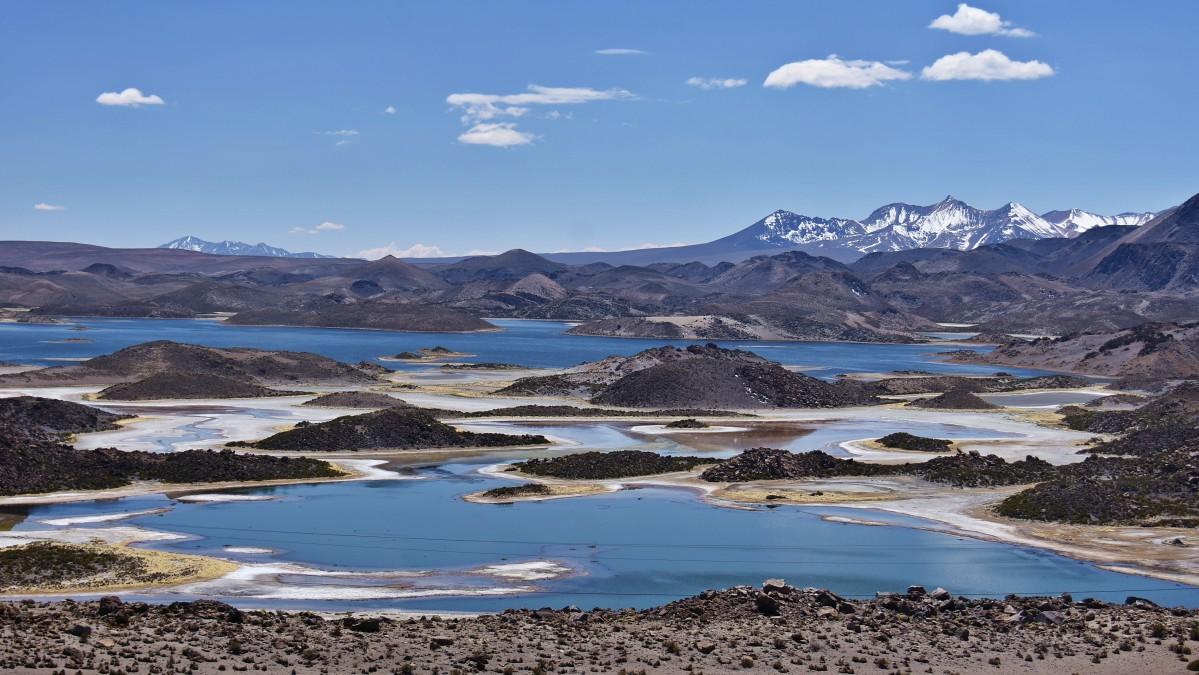 Zdjęcia: Laguna de Cotacotani, Parque Nacional Lauca, Laguna de Cotacotani, CHILE