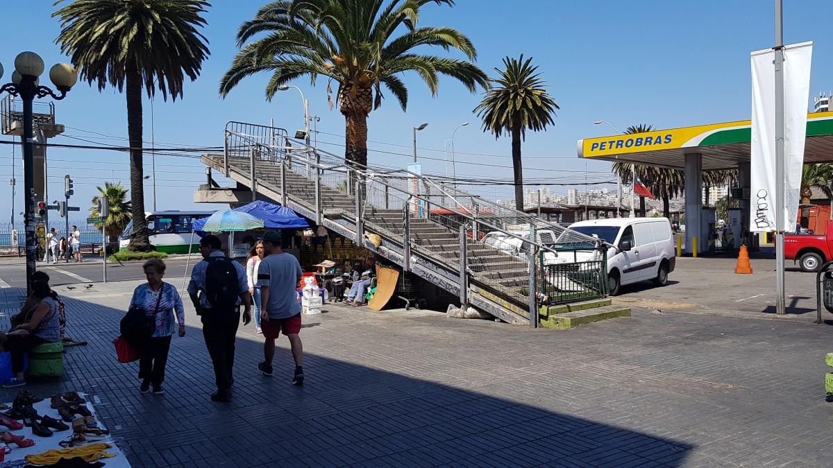 Zdjęcia: Valparaiso, Chile, Valparaiso  - też mają schody, CHILE