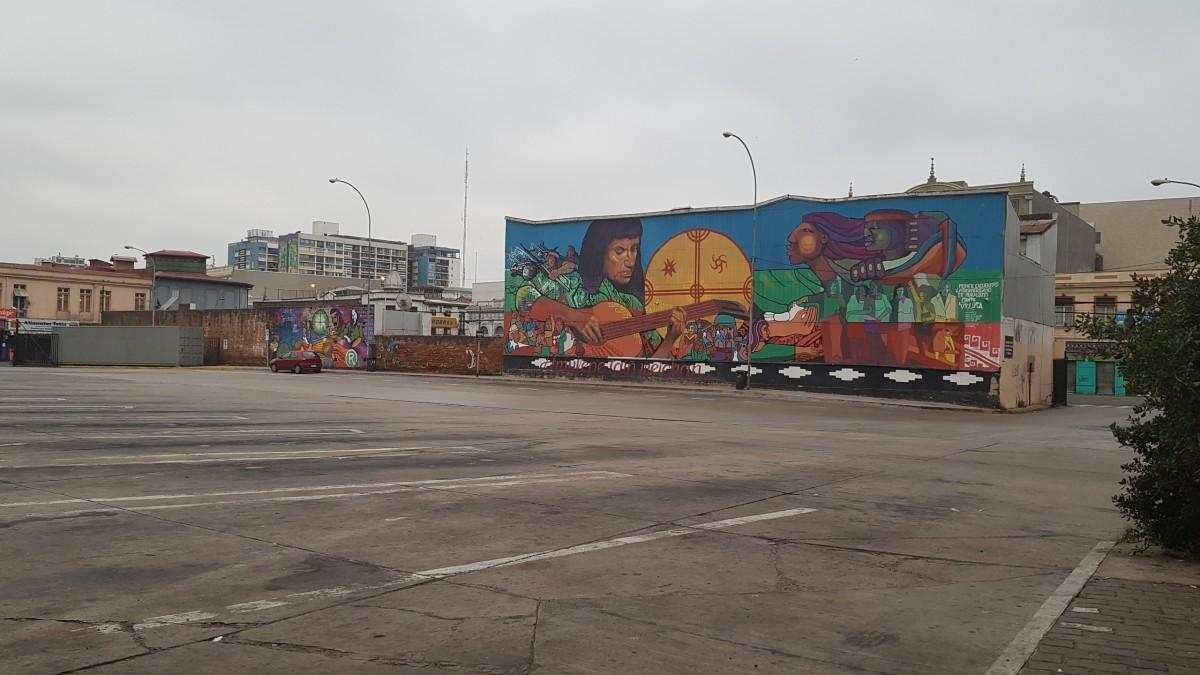Zdjęcia: Valparaiso, Chile, Valparaiso dworzec autobusowy, CHILE