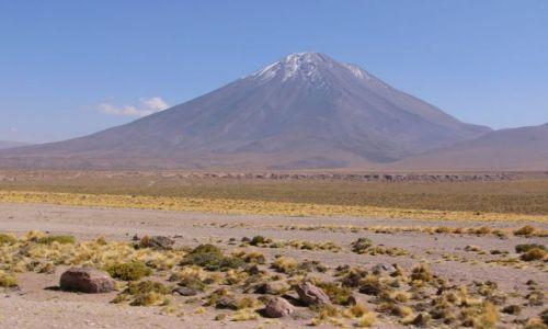 CHILE / Atacama / Droga / Licancabur