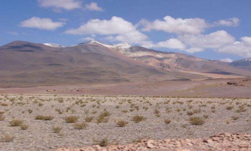 CHILE / Atacama / Przy Paso de Sico / El Laco