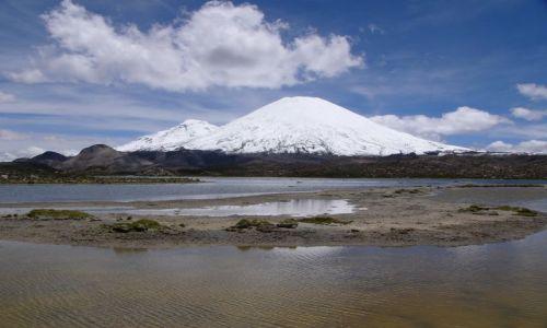 CHILE / Region XV / PN Lauca / Wulkany