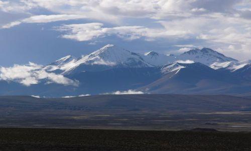 CHILE / Region XV / PN Lauca / Po burzy