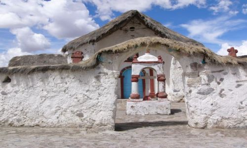 Zdjecie CHILE / Region XV / PN Lauca / Kościół w Parinacota