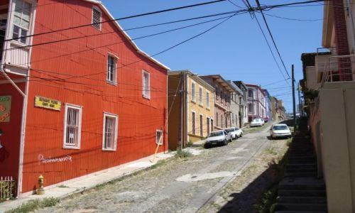 Zdjęcie CHILE / Valparaiso / Valparaiso / Kolory Valparaiso (2)