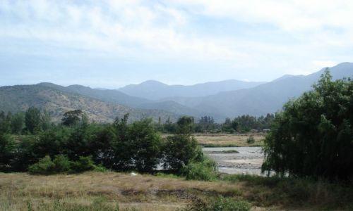 Zdjęcie CHILE / Santiago / trasa Santiago - Rancagua / Andy w tle