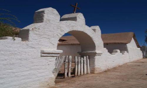 CHILE / brak / San Pedro de Atacama  / XVII wieczny Kościół św PIotra