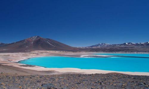Zdjecie CHILE / brak / Pustynia Atacama, droga pod Ojos del Salado / Laguna Verde