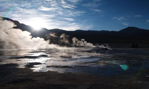 CHILE / brak / Pustynia Atacama, okolice San Pedro de Atacama  / Gejzery El Tatio