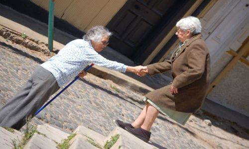 Zdjecie CHILE / brak / Valparaiso nad Pacyfikiem / Pomocna dłoń