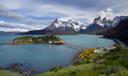 Zdjecie CHILE / Patagonia / Torres del Paine / Pehoe