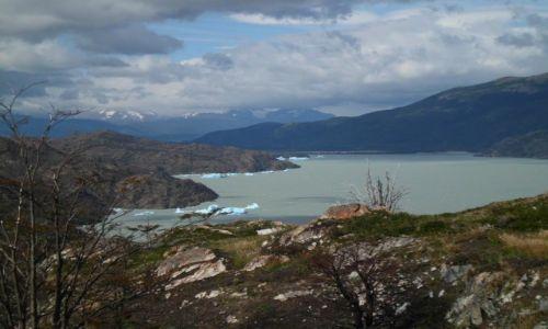 Zdjecie CHILE / Torres del Paine / Lago Grey / Niesamowite jezioro polodowcowe