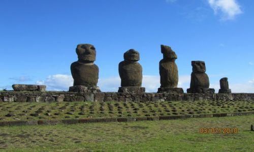 Zdjęcie CHILE / AMERYKA LACINSKA / EASTER ISLAND / RAPA NUI