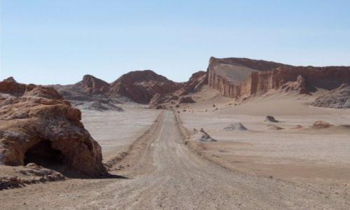 Zdjecie CHILE / Atacama / Valle de la Luna / Na Księżycu