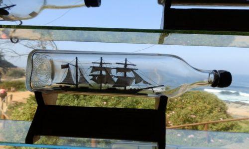 Zdjecie CHILE / Vigna del Mar / Nad Oceanem / Z butelki na pełne morze