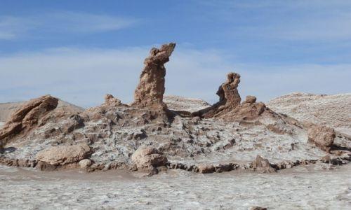 Zdjecie CHILE / Atacama / Atacama / Trzy Marie-- atrakcja pustynna