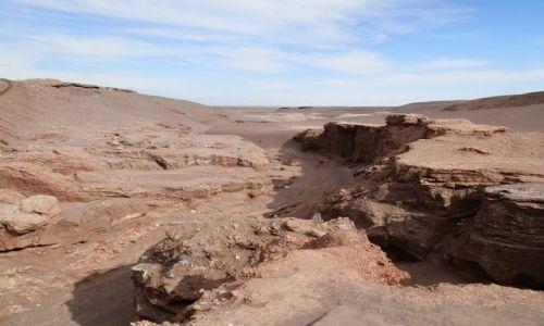 Zdjecie CHILE / Andy / Okolice San Piedro de Atacama / Dolina księżycowa 2