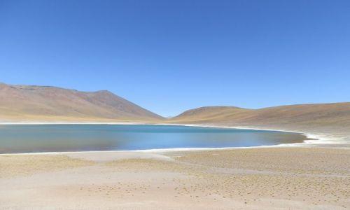 CHILE / Andy / Pustynia Atacama / Drugie słone jezioro