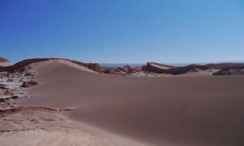 Zdjecie CHILE / SanPedroAtacama / Atacama / Valle de Luna
