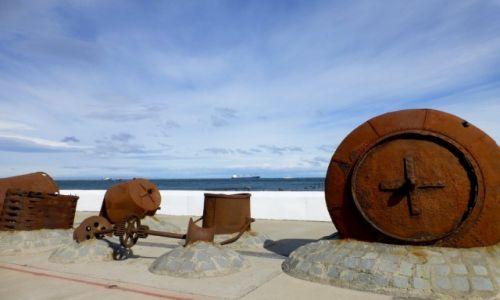 Zdjęcie CHILE / Patagonia / Punta Arenas /   na nabrzeżu w Punta Arenas