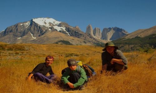 CHILE / Puerto Natales / Torres del Paine / Na szlaku w Torres del Paine